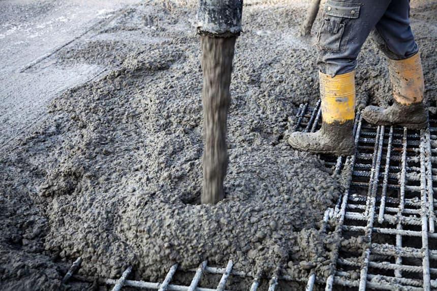 Уход за бетоном зимой.